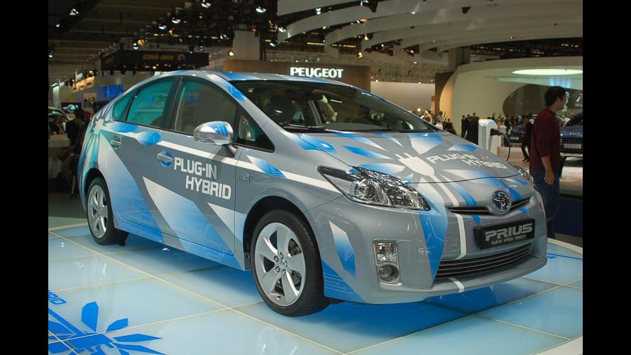 Toyota Prius Plug-in: iniziate le consegne