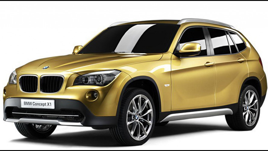 BMW Concept X1: le prime immagini