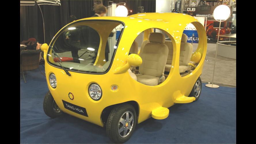 L'auto cinese cerca il design distintivo