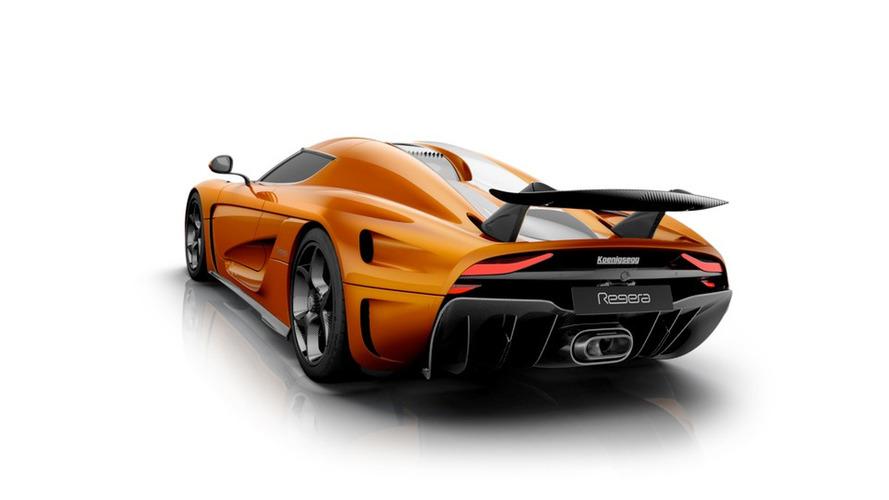 Koenigsegg Regera Sweet Mandarine