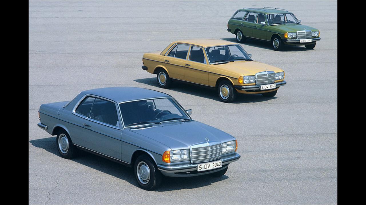 Mercedes W 123 Coupé (1977)