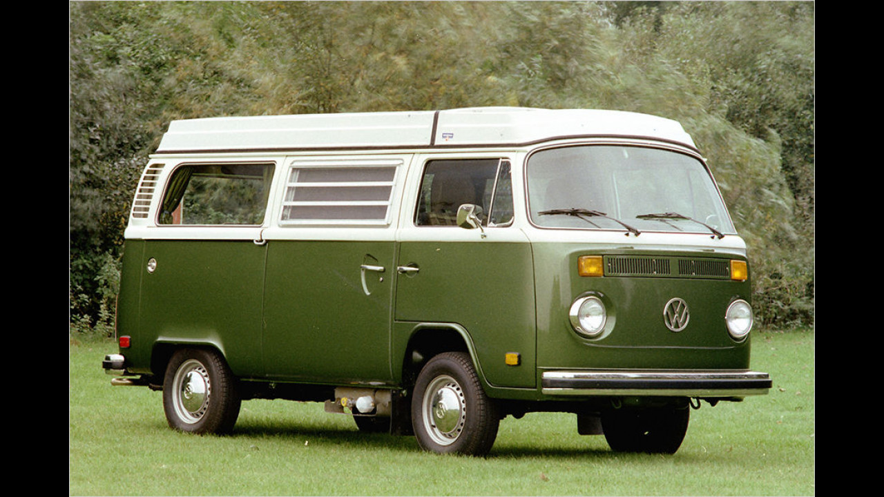 Platz eins seit 1999: VW T2 Bus