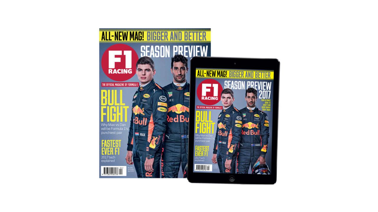 F1 Magazine cover