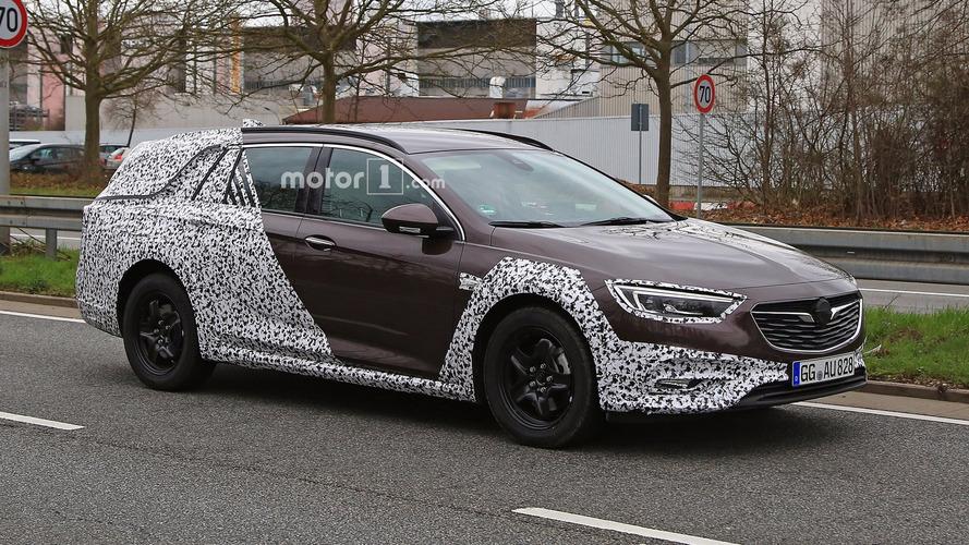 Photos espions - La famille de l'Opel Insignia va bientôt s'agrandir