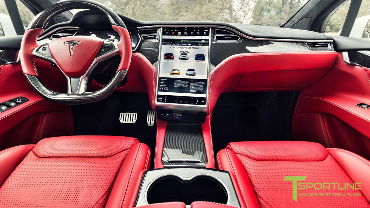 Tesla Model X With Bentley Interior Wants 180k On Ebay