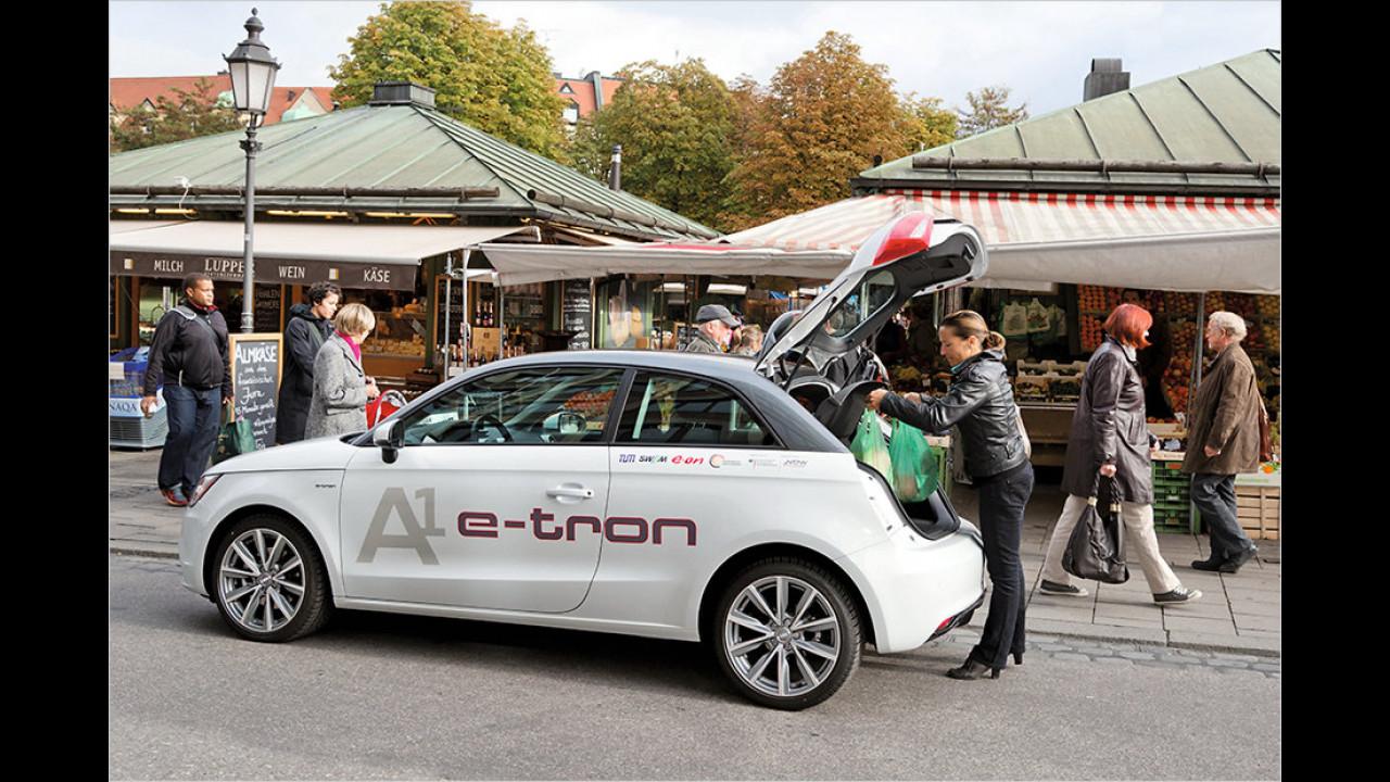 Audi A1 e-tron (2012)
