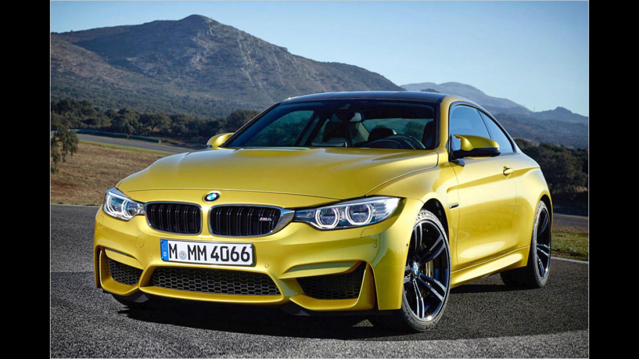 Platz 6: Der BMW M4 mit 431 PS