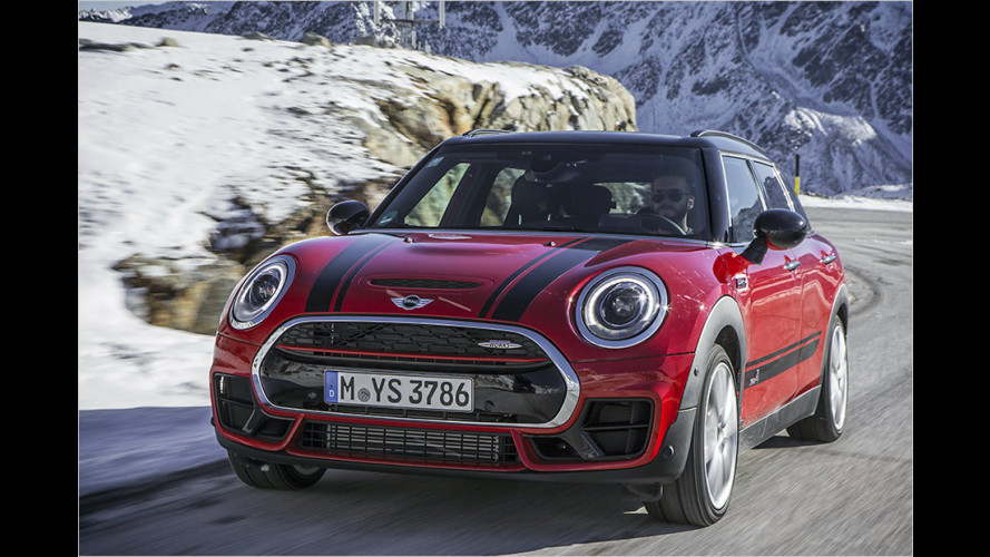 Mini John Cooper Works Clubman (2016) im Test