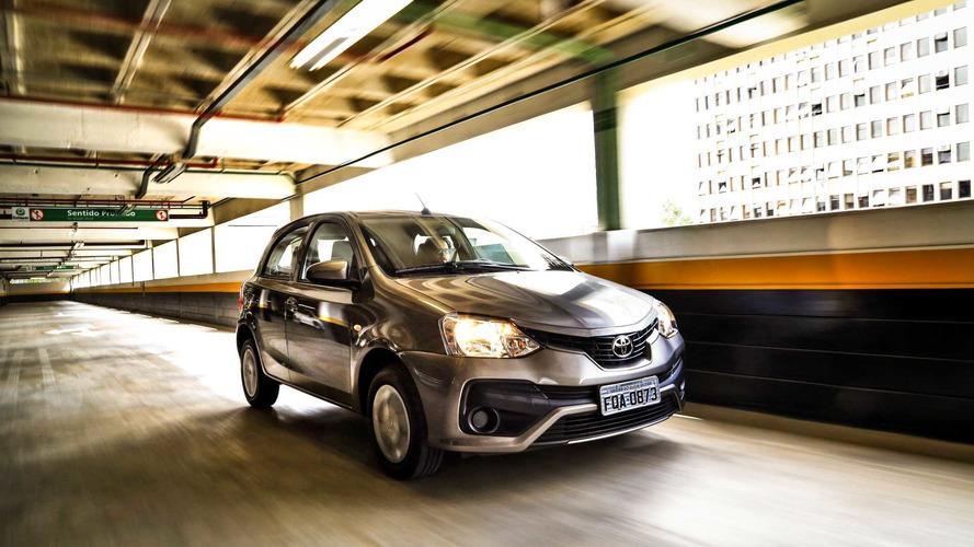 Toyota Etios ganhará controle de estabilidade de série na Argentina