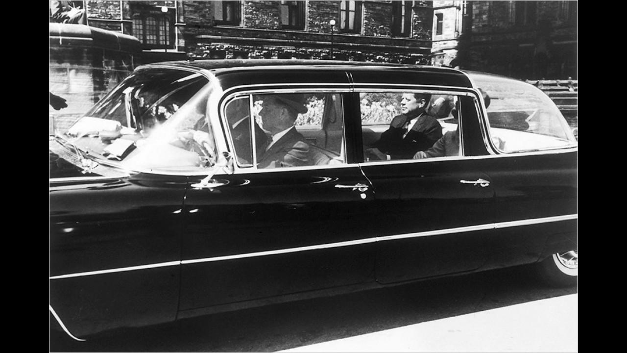 John F. Kennedy: Cadillac Fleetwood Custom (1959)