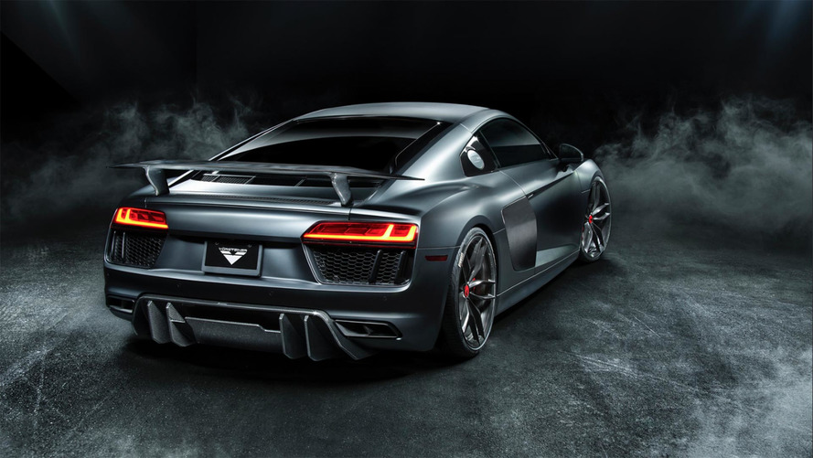 Beef up your Audi R8 with a bodykit by Vorsteiner