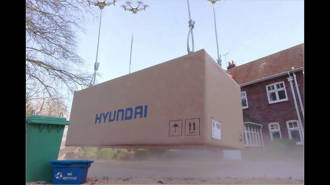 Hyundai: Auslieferung per Drohne