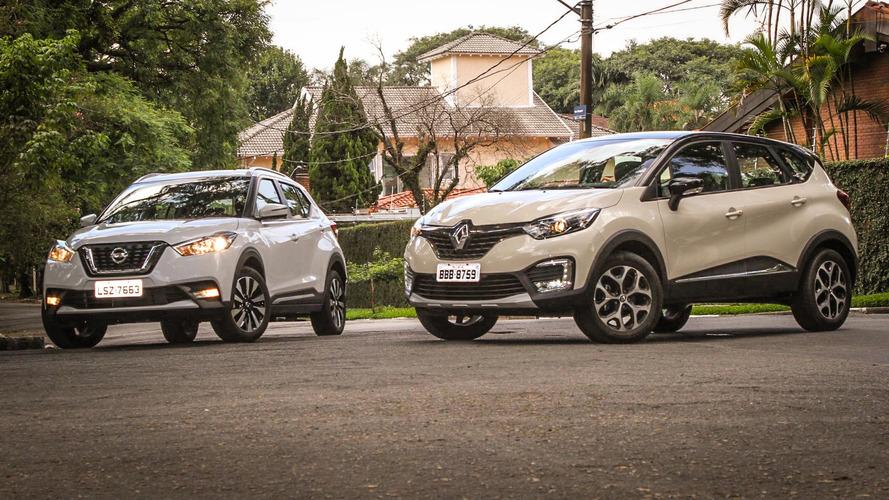 Renault confirma próximos Captur e Kicks com a mesma plataforma