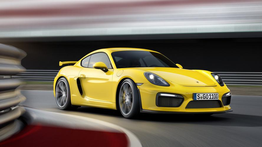 Bir Porsche Cayman GT4 RS mi geliyor?