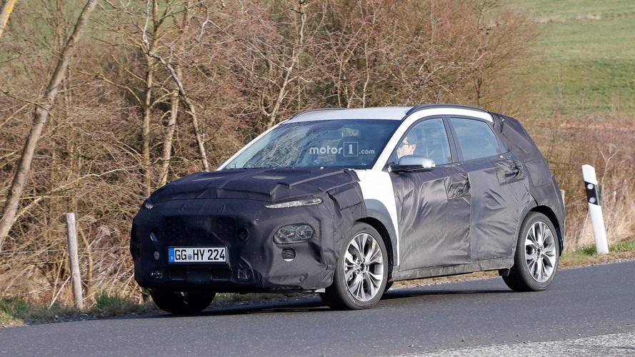 Hyundai Kona Spied On European Roads