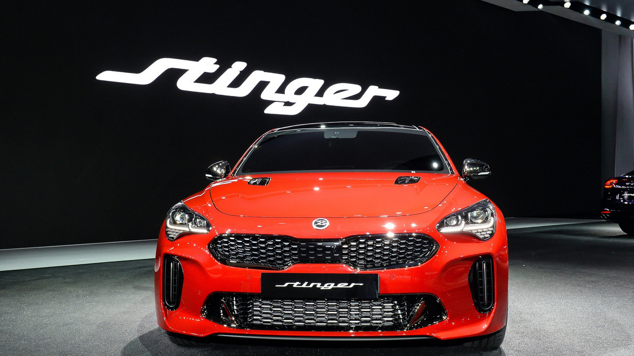 2018 kia stinger at the seoul motor show foto france. Black Bedroom Furniture Sets. Home Design Ideas