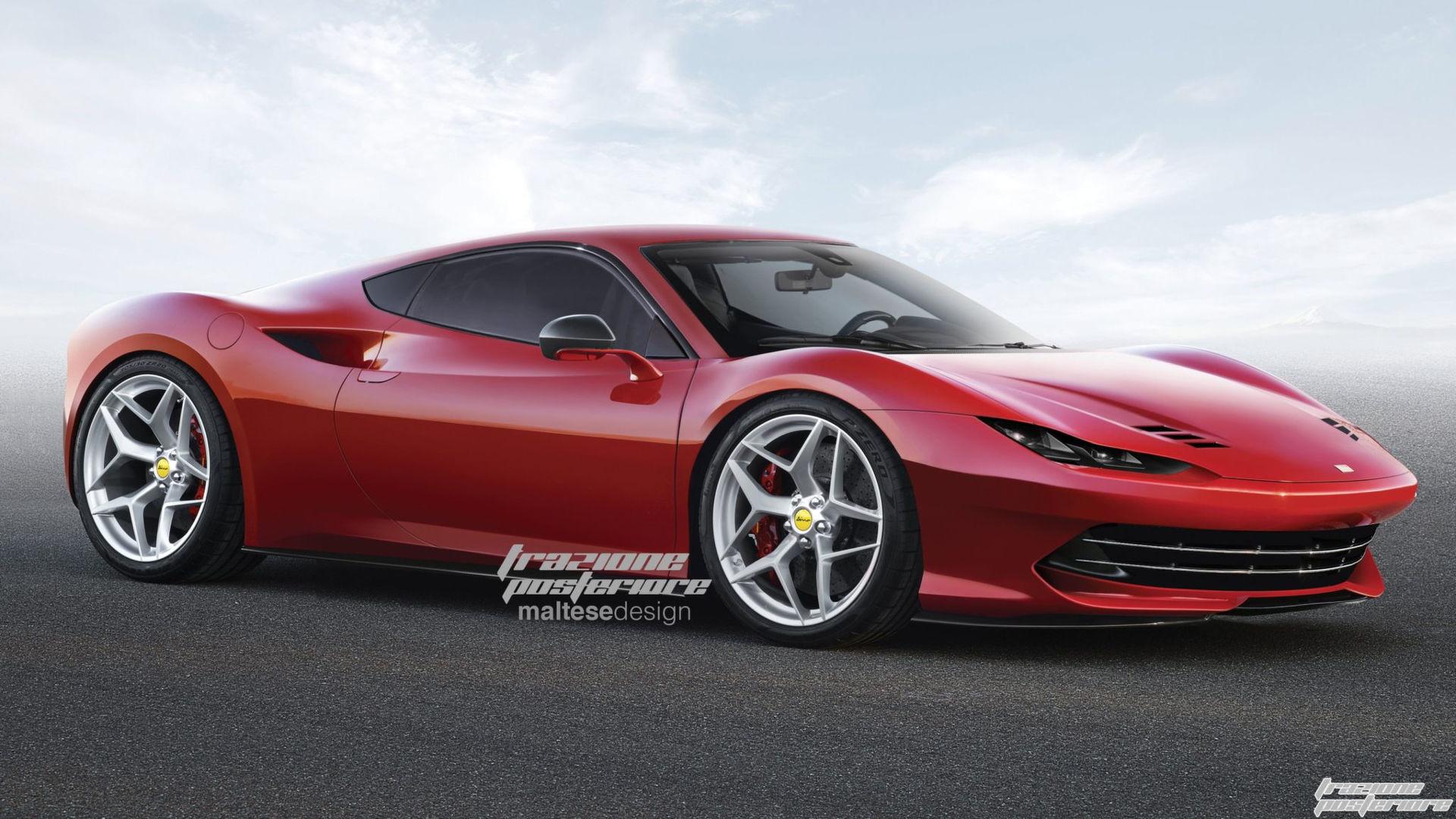 Ferrari Dino Rumours Persist. So Do The Renders