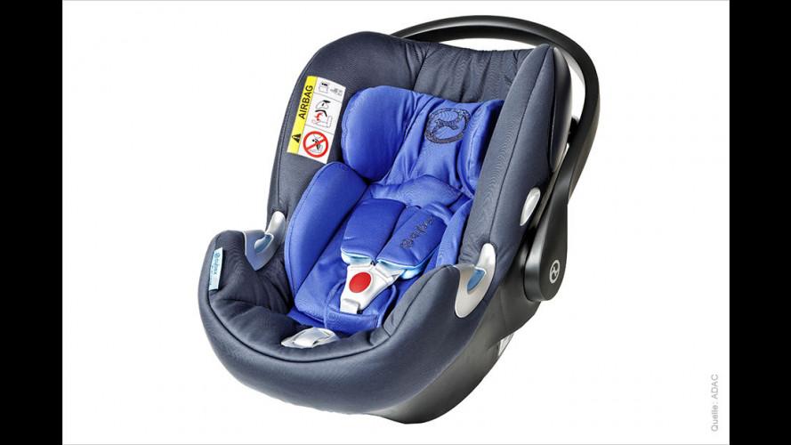 16 Kindersitze im ADAC-Test (2016)