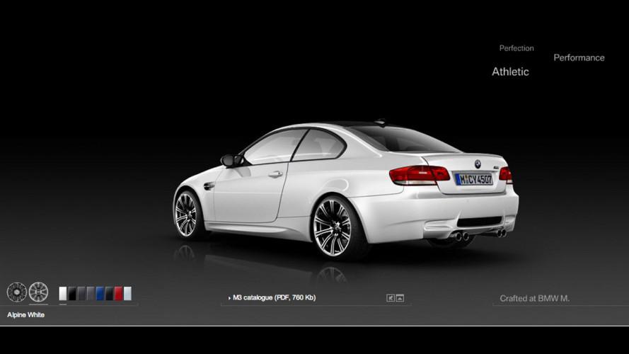 Nuova BMW M3: di che colore la vorreste?