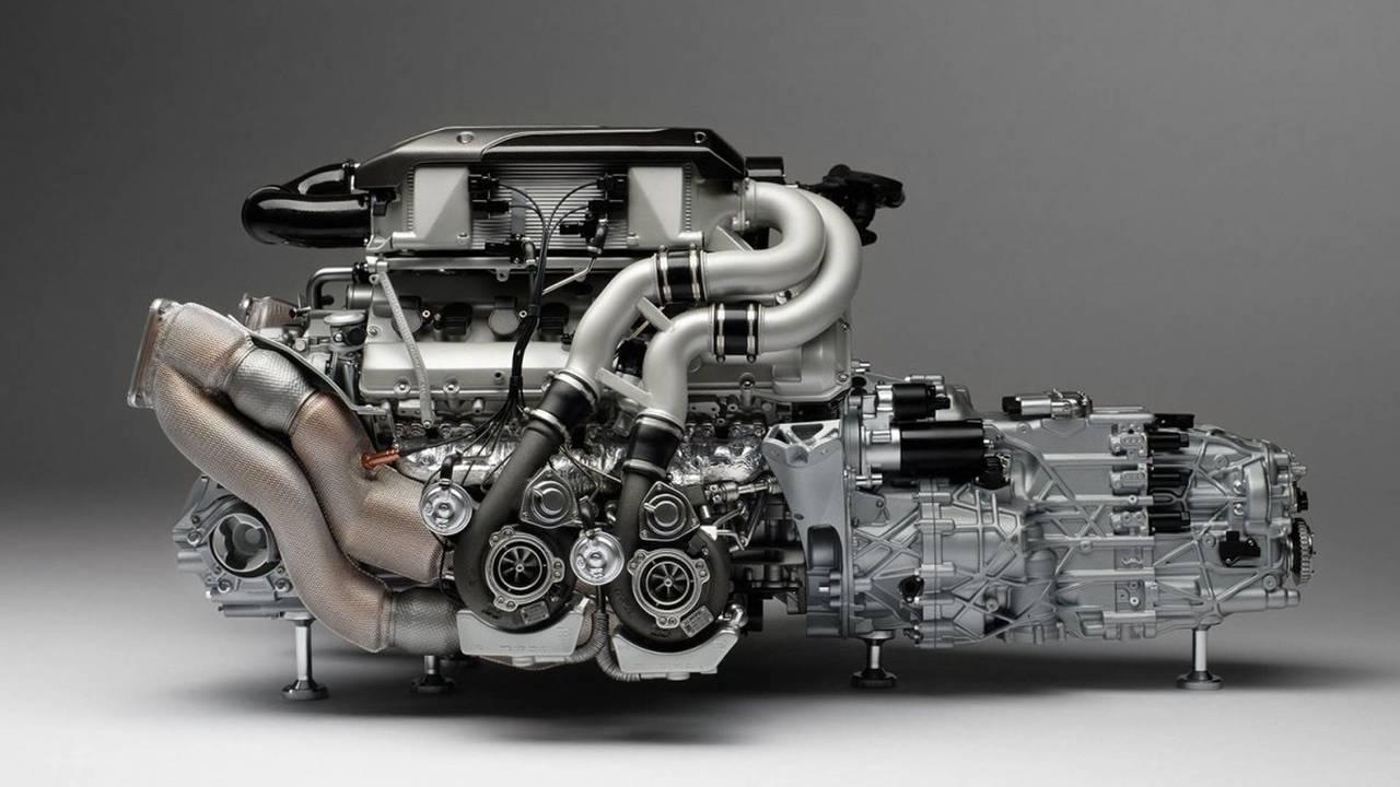 Motor Bugatti Chiron a escala (Amalgam)