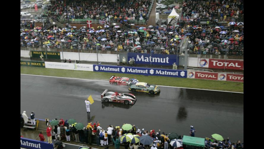 L'Audi R10 trionfa ancora a Le Mans