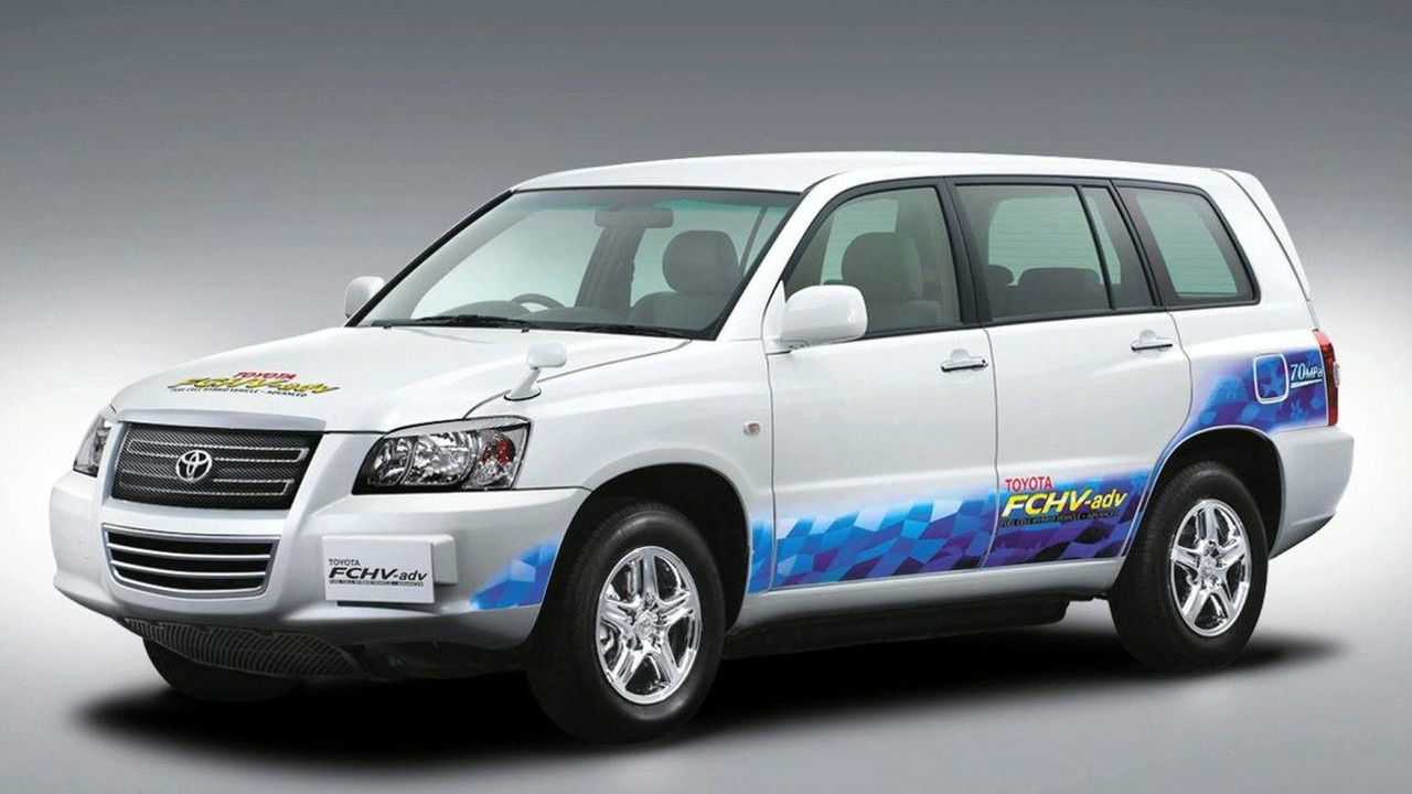 Toyota Advanced Fuel Cell Hybrid Vehicle
