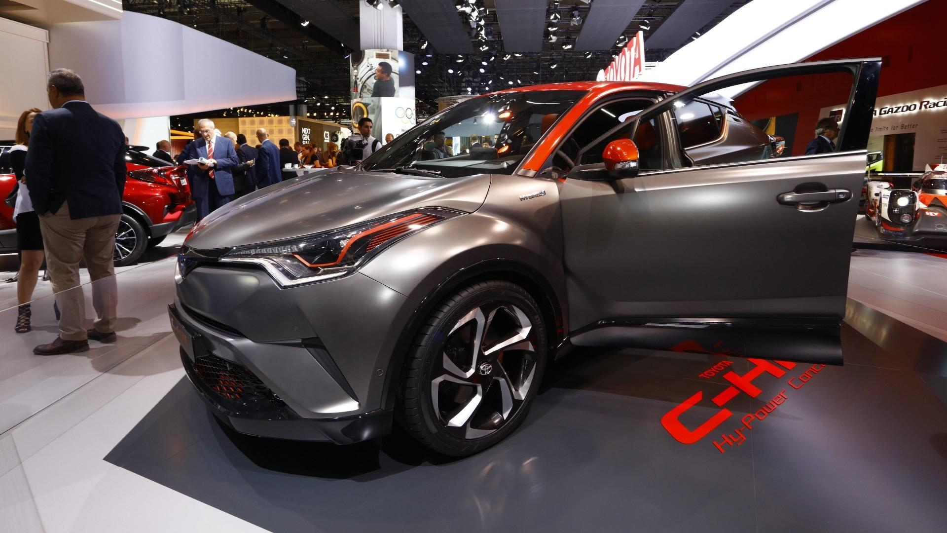 Toyota Chr Hybrid >> Toyota C Hr Hy Power Concept Unveiled With More Hybrid Punch