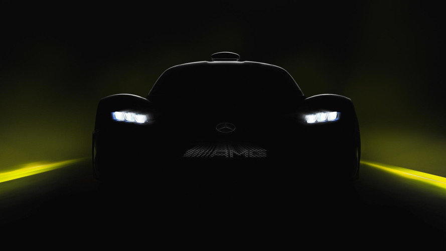 Mercedes-AMG Project One teaser image