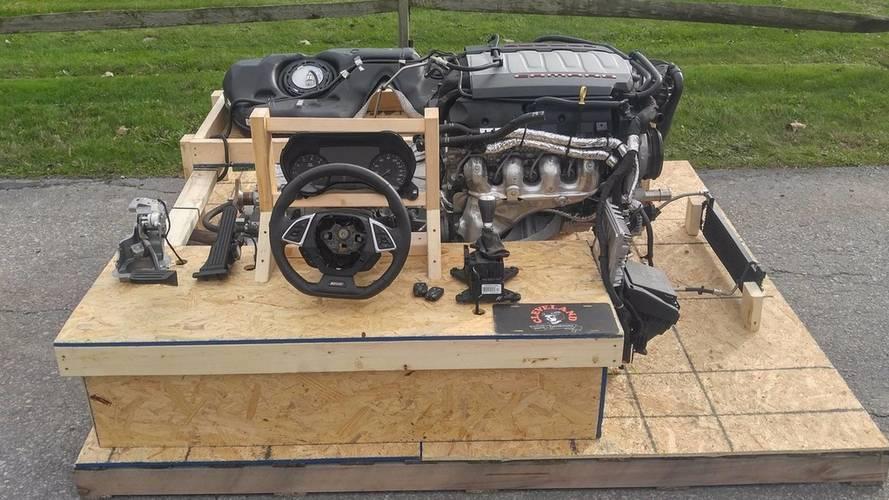 VIDÉO - Ceci est une Chevrolet Camaro de 460 ch