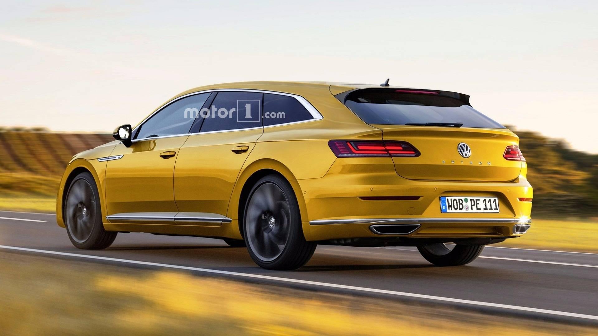 VW Arteon Usa >> Vw Shooting Brake Announced Is It Based On The Arteon