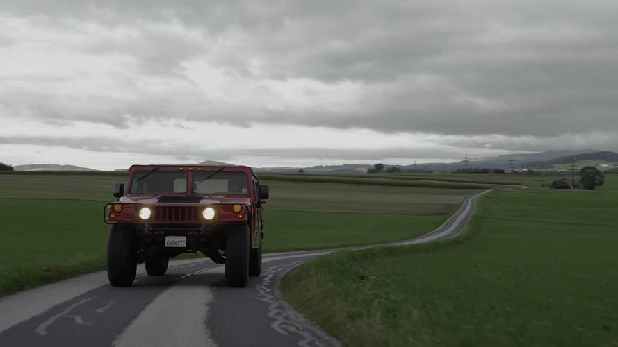 Mozgásban az elektromos-meghajtású Hummer H1