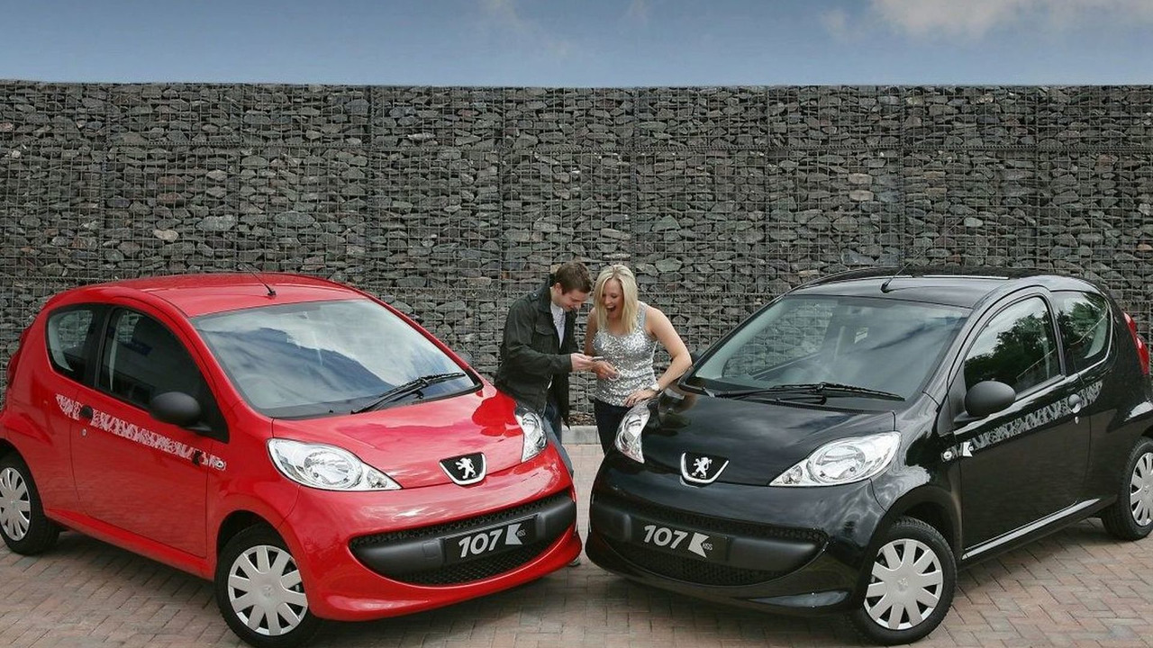 Peugeot 107 Kiss Special Edition Uk