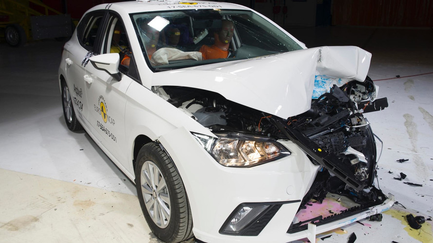 2017 Seat Ibiza Euro NCAP crash test