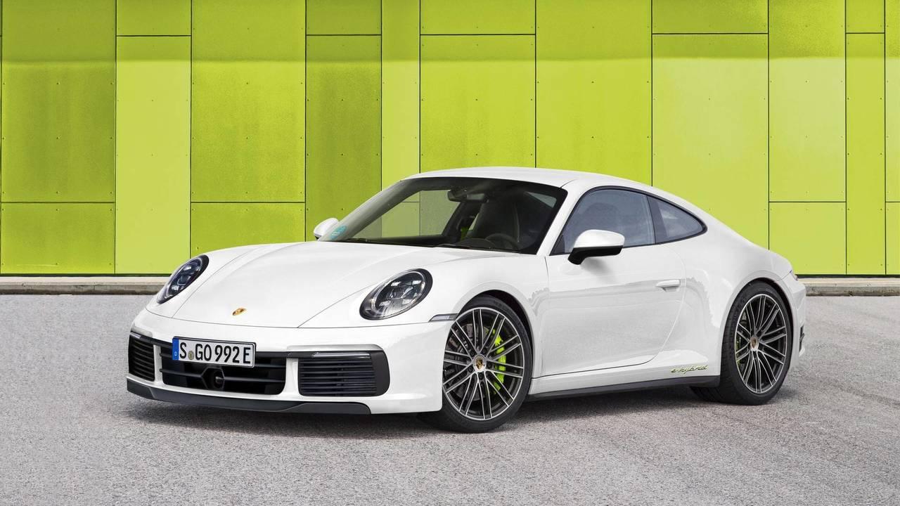 Next-Gen Porsche 911 Hybrid