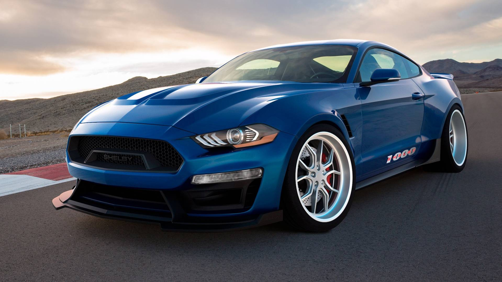 Shelby 1000 Is A Track Only Mustang Loaded With 1 000 Hp