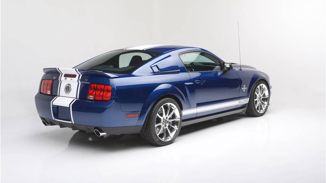 2007 ford mustang shelby gt500 super snake auction