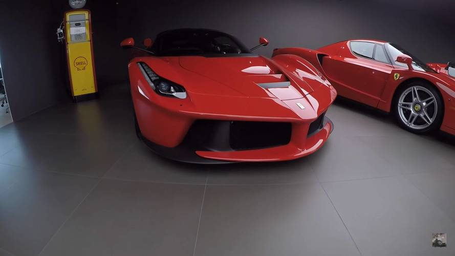 Así es la colección de Ferrari de Swizzcars