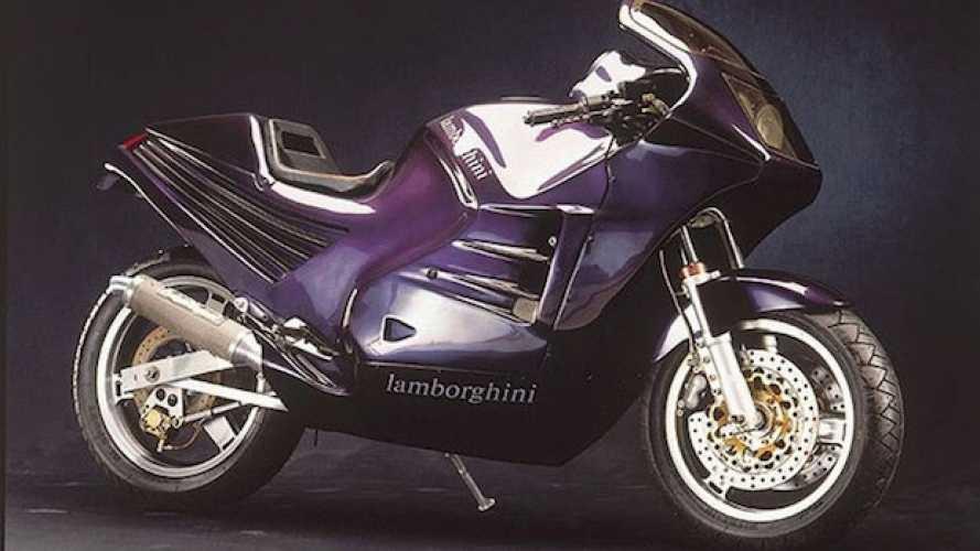 Lamborghini Design 90, quella volta che a Sant'Agata Bolognese costruirono una moto