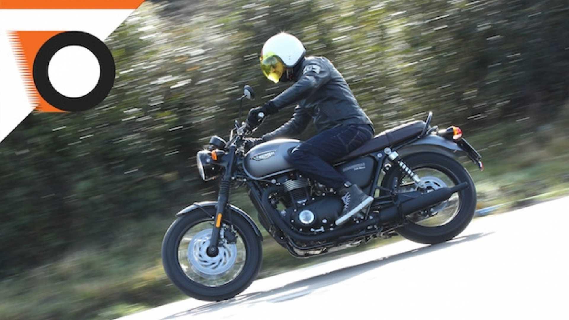 Triumph Bonneville T120 Black Test Video
