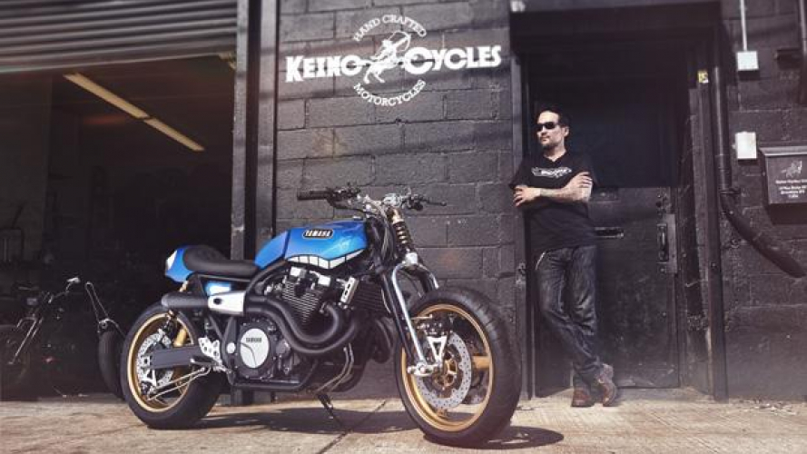 Yard Built XJR1300 by Keino Cycles