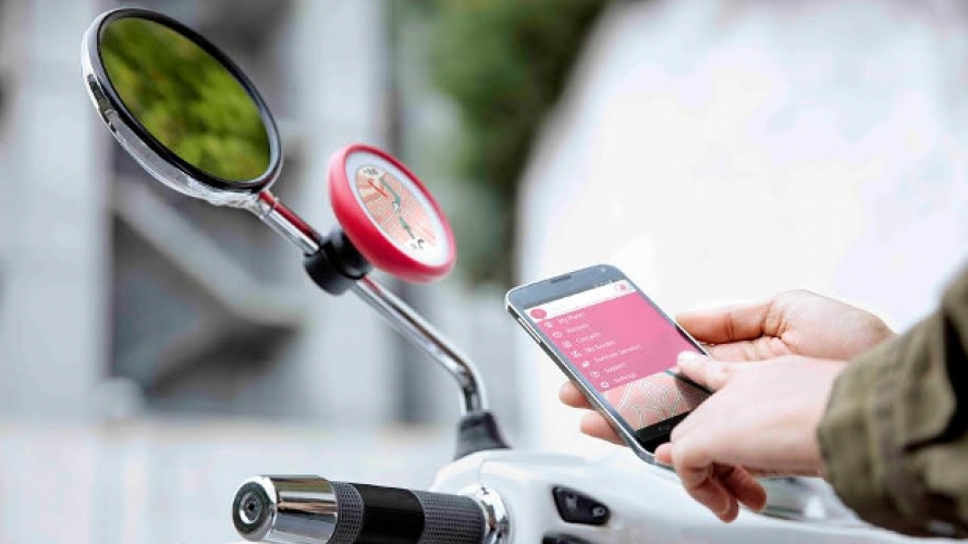 Tom Tom VIO: innovativo navigatore per lo scooter
