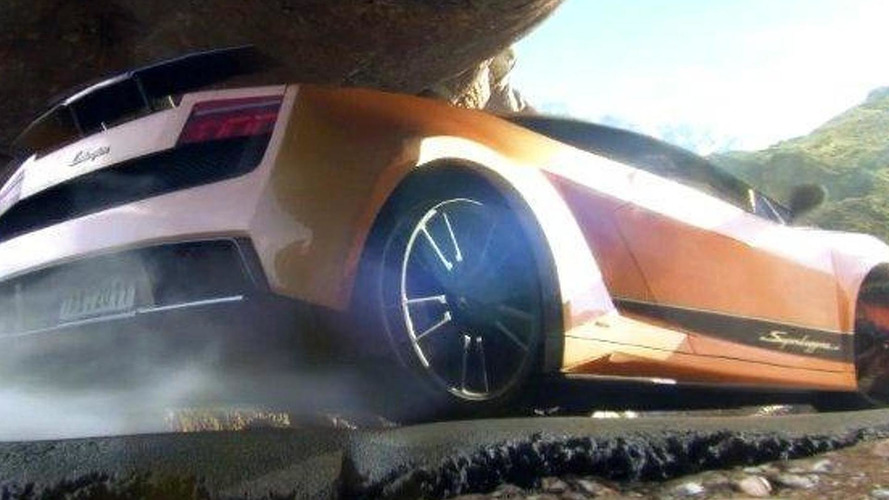 Lamborghini Gallardo Superleggera 3D animation short film