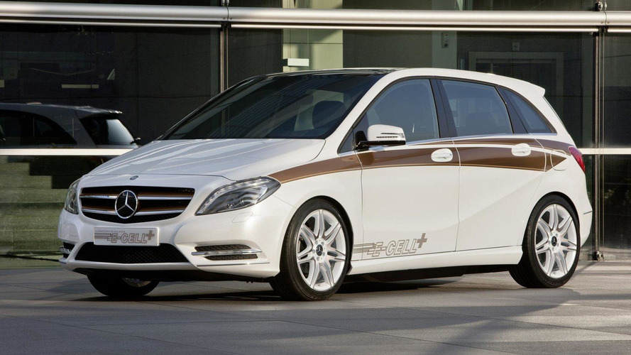 Mercedes-Benz Concept B-Class E-CELL PLUS debuts