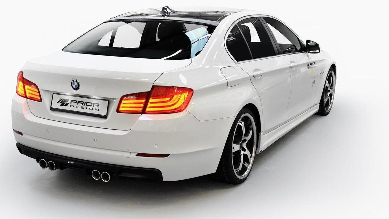 BMW 5-Series F10 by Prior Design 27.12.2011