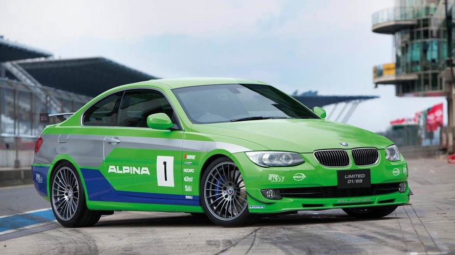 Alpina B3 GT3 - rare footage [video]