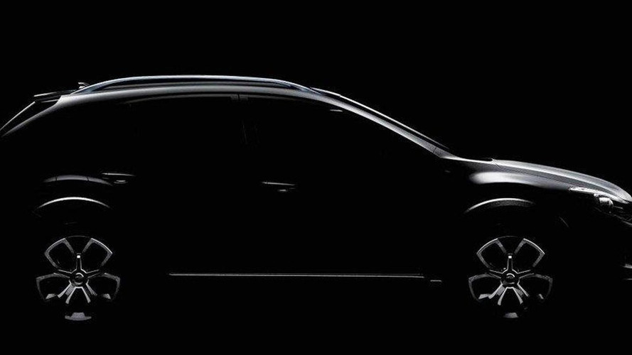 Subaru XV Concept teased ahead of Shanghai