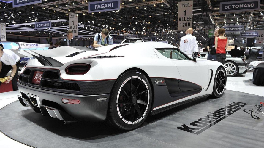Koenigsegg Agera R specifications announced