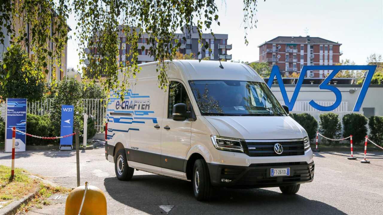 Volkswagen e-Crafter, anteprima italiana per furgone 100% elettrico di Wolfsburg