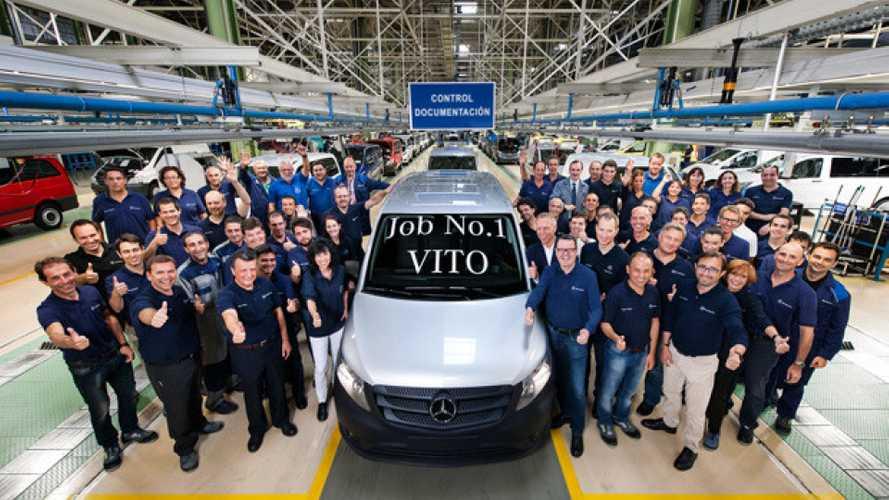 Nuovo Mercedes Vito, via alla produzione