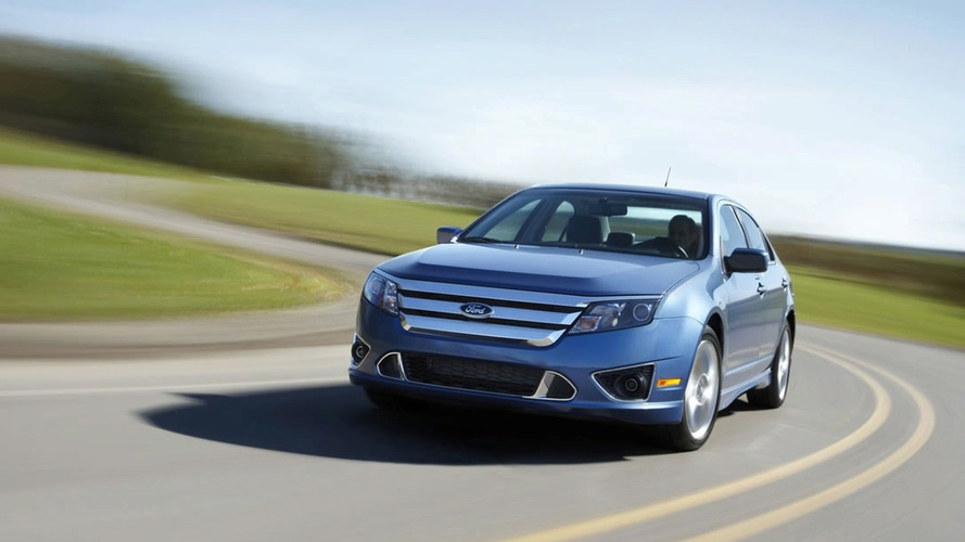 2010 Ford Fusion Facelift Breaks Cover